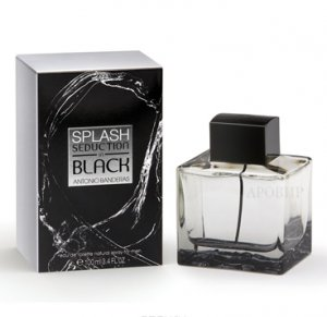 Antonio Banderas Splash Black Seduction for Men